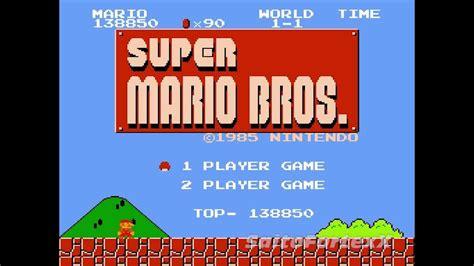 Old School Gaming Gameplay Footage 4 Super Mario Bros