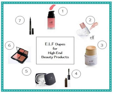 Best Elf Cosmetics 7 Dupes For High End & Brand Name