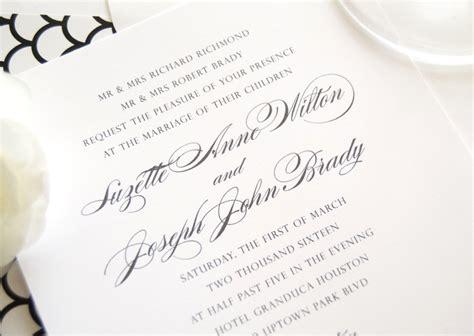 Houston Skyline Wedding Invitations