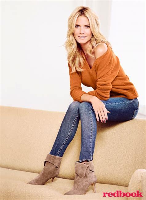 Heidi Klum Stars in Redbook & Talks Life After Seal ...