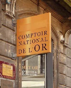 Comptoir De L Or by Franchise Comptoir National De L Or Or Pi 232 Ces D Or