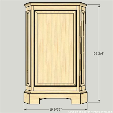 how to build a corner cabinet for a tv remodelaholic how to build a catalog inspired corner cabinet