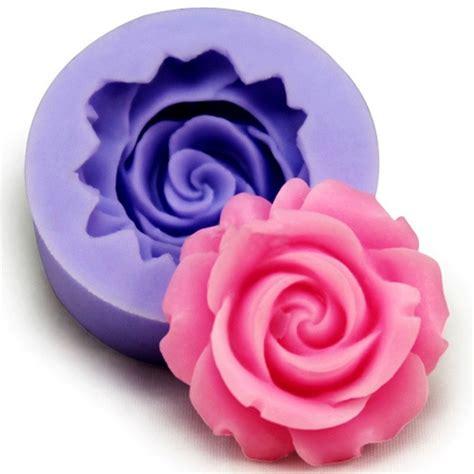 silicone rose fondant mold cake decorating mould