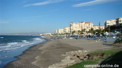 der playa strand ferrara  torrox costa  andalusien