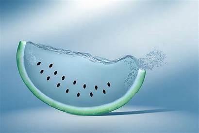 Water Wallpapers Creative Digital Watermelon Wallpapersafari