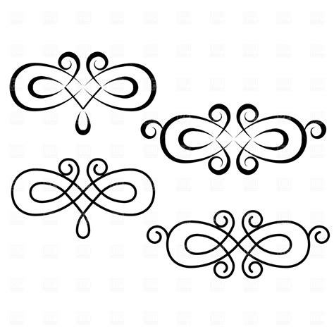 free vector clipart 19 free vector swirls images swirl