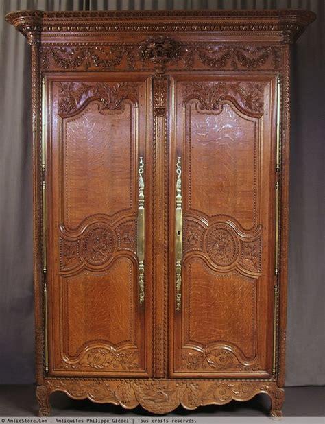 Armoire normande du bocage virois XIXe siècle N 15320