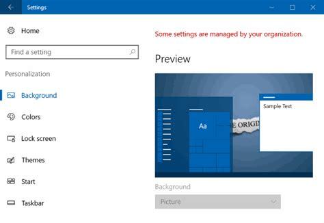 organisation bureau windows r 233 solu impossible de modifier l arri 232 re plan du bureau