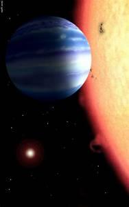 Scientists detect water around a hot Jupiter