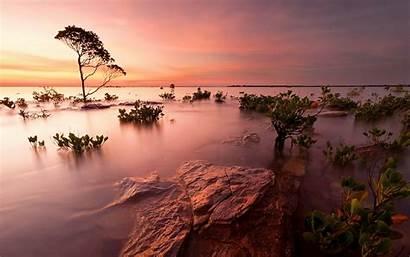 Nature Amazing Wallpapers Landscape Wonderful Sunset Coastal