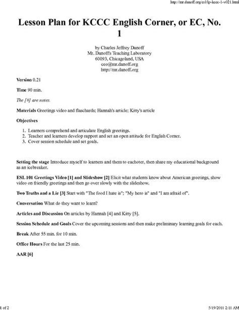 file lesson plan for kccc english corner or ec no 1 pdf wikiversity