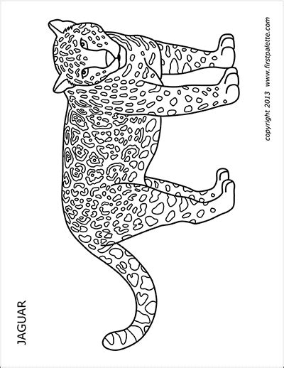 cheetah  printable templates coloring pages firstpalettecom