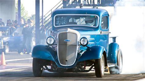 Chevy Pickup Running Giant Turbo Youtube