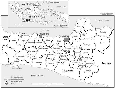 central java cartogis services maps  anu