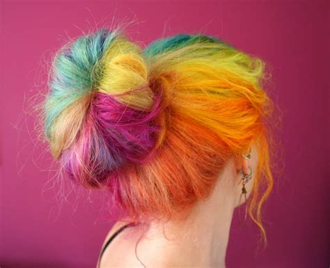 Beautiful Rainbow Hair Hair Colors Ideas