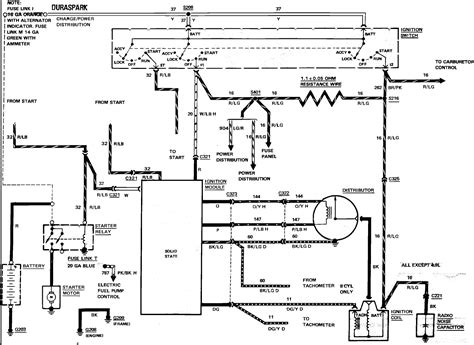 ford  ignition wiring diagram  wiring diagram