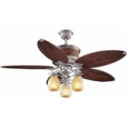 hton bay colonial bamboo 52 in pewter ceiling fan