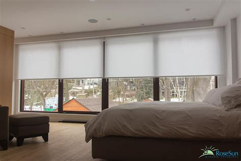 Motorized Window Coverings by Electric Blinds For Large Windows Search For