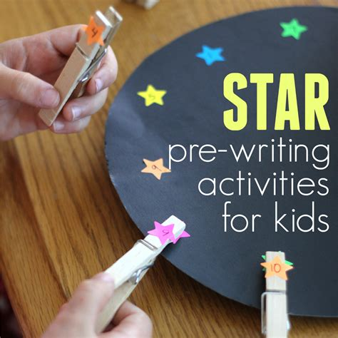 toddler approved pre writing activities for 608 | star%2Bpre writing%2Bactivities%2Bfor%2Bkids%2Bsquare
