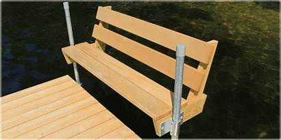 Bench Dock Benches Boat Docks Cedar Stairs