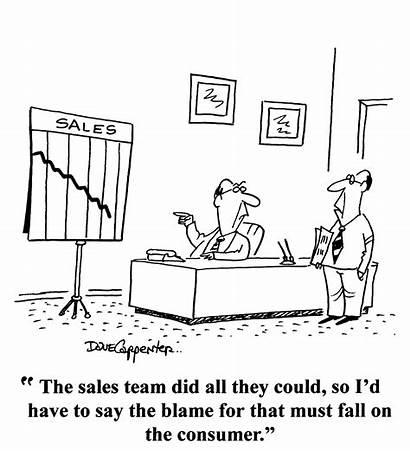 Sales Customer Cartoon Humor Funny Blame Vendas