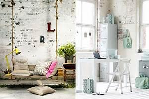 Que Mettre Sur Un Mur En Parpaing Interieur : un mur en briques oui mais peint mademoiselle claudine le blog ~ Melissatoandfro.com Idées de Décoration