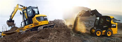 mini excavator  skid steers jcb