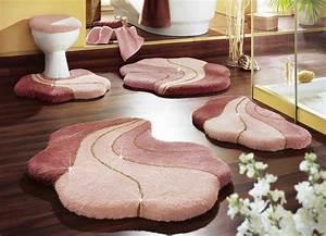 Badgarnitur Set Stand Wc : rosa wc vorleger und weitere badtextilien g nstig online kaufen bei m bel garten ~ Indierocktalk.com Haus und Dekorationen