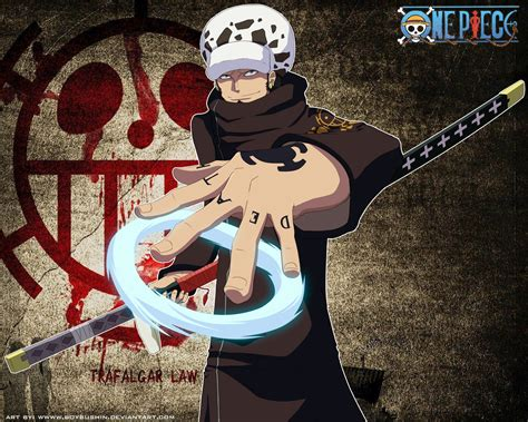 Trafalgar Law-one Piece By Milars On Deviantart