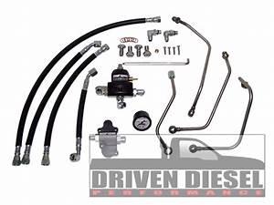Ford 6 0l Powerstroke Driven Diesel Regulated Return Kit