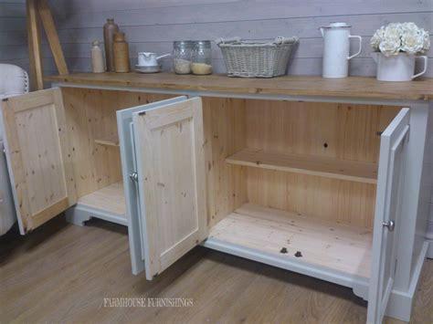 Welsh Sideboard For Sale, Solid Pine 6ft Sideboard Kitchen
