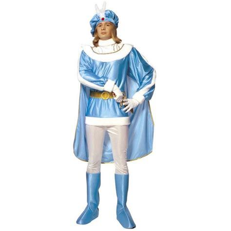 adliger blauer prinz mittelalter kostuem