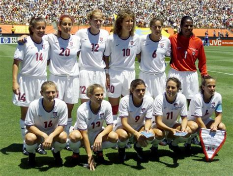Where Are They Now 1999 Women's World Cup Soccer Team