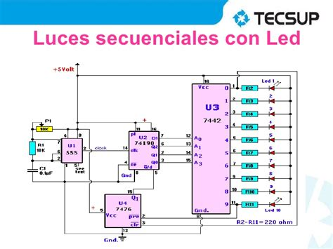 luces secuenciales con leds timer 555 viyoutube apktodownload