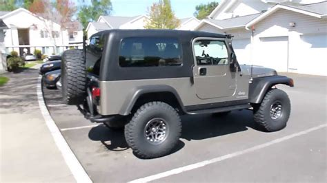 lj jeep for sale 2006 jeep wrangler rubicon unlimited lj youtube