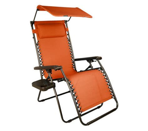 bliss hammocks gravity free recliner w canopy cup tray