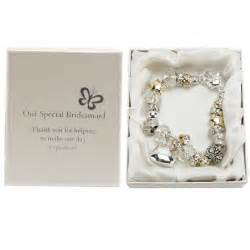 gifts for bridesmaids silver and gold charm bracelet bridesmaid gift gift ideas