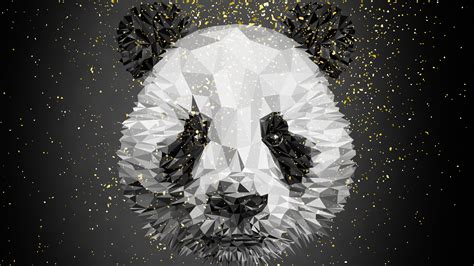panda lowploy art  wallpapers hd wallpapers