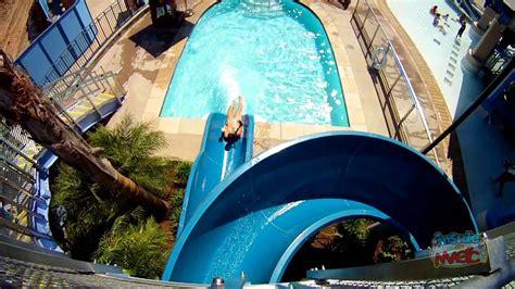 disneyland hotel pool monorail water  pov ride  red  blue youtube
