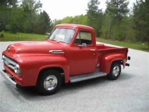 1953 Ford F-100 50th Anniversary - YouTube  Ford