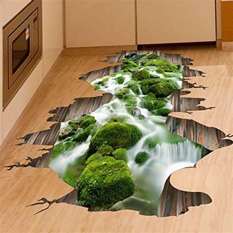 fangeplustm  creek floor sticker hole view diy