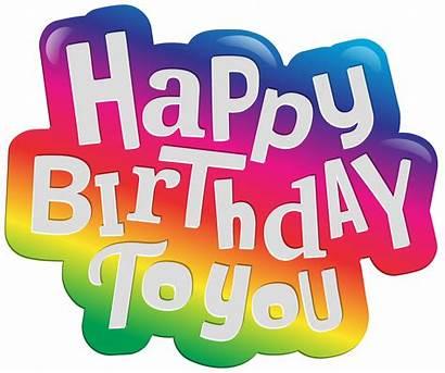Birthday Happy Clip Clipart Transparent Cake Yopriceville