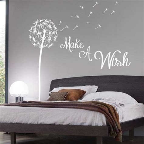 dandelion quote wall sticker floral pretty