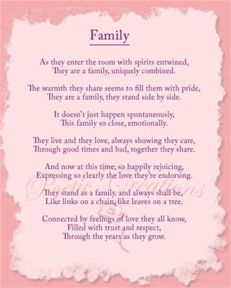 family poem family reunion family poems inspirational poems funeral poems