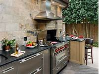interesting small outdoor kitchen Outdoor Kitchen DIY, Projects & Ideas | DIY