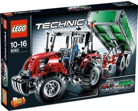 lego technic neuheiten sommer 2018 lego technic 8063 traktor mit anh 228 nger neu review