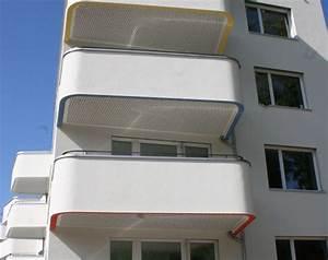 Balkon Decke Verkleiden : balkon l rmschutz mit produkten der bruag ag ~ Michelbontemps.com Haus und Dekorationen