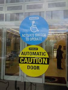 Stanley 413743  U0026quot Activate Switch To Operate U0026quot  Two Sided Decal