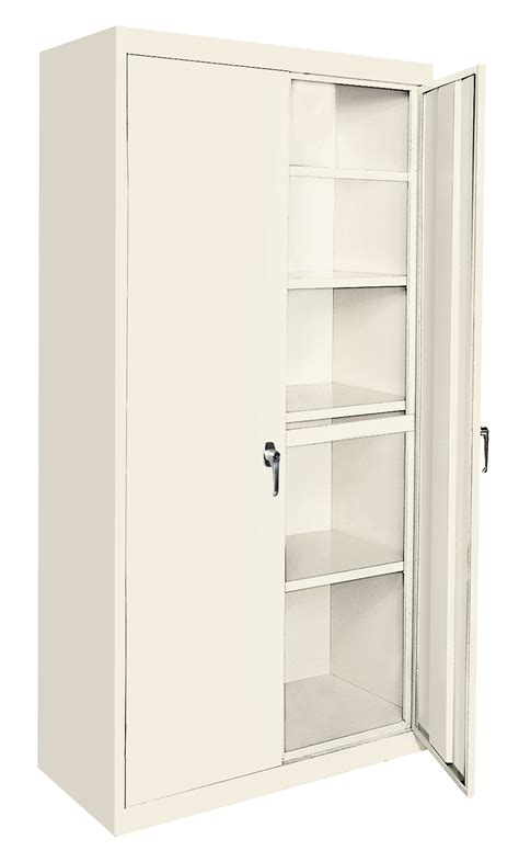 steel storage cabinets all purpose 36 quot x18 quot x72 quot steel storage cabinet aah 36rb 4