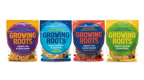 roots growing unilever snack plant brand clusters powered packets snacks organic theshelbyreport arrow forward